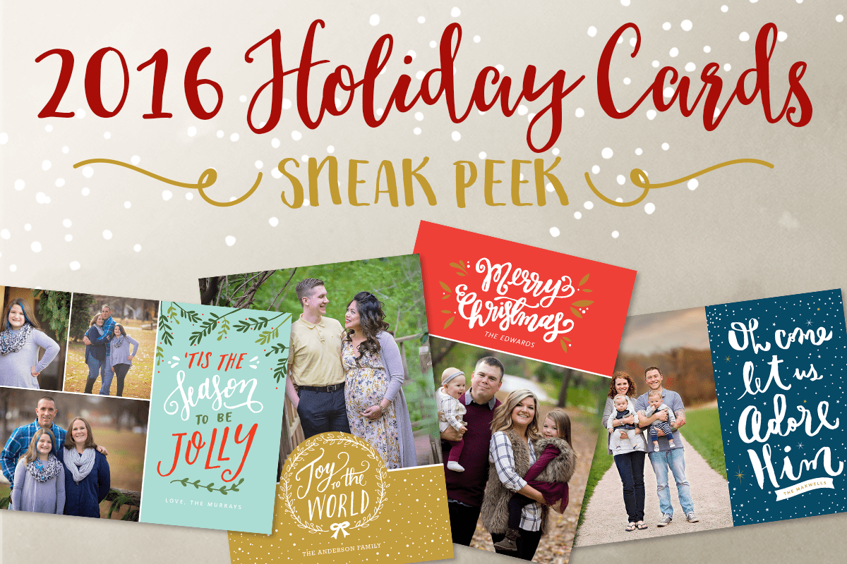 2016 Premium Holiday Cards