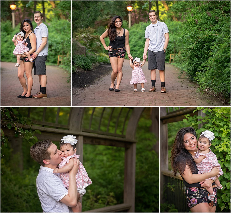 Sayen Garden, Hamilton, NJ Family Photos (cake smash)