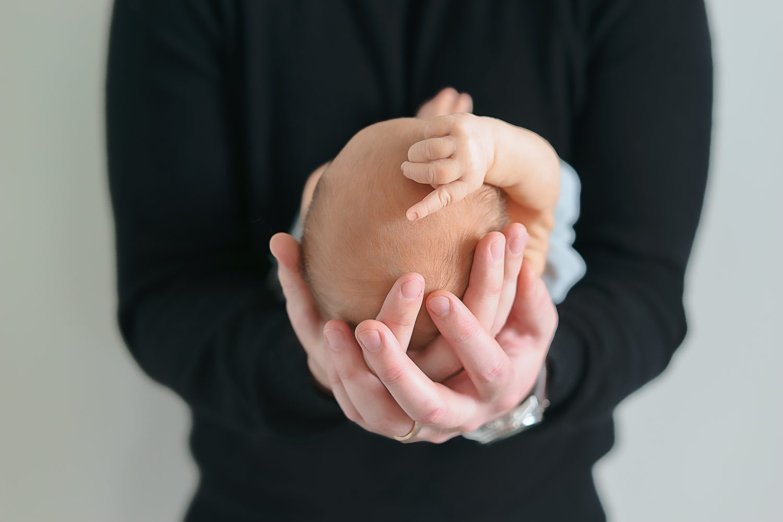 Boy newborn photos 7